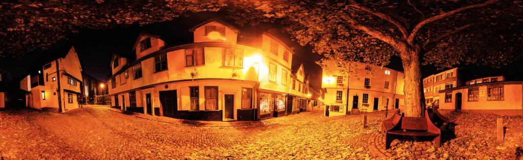 2012.11.03 - norwich-at-night-panorama-sepia