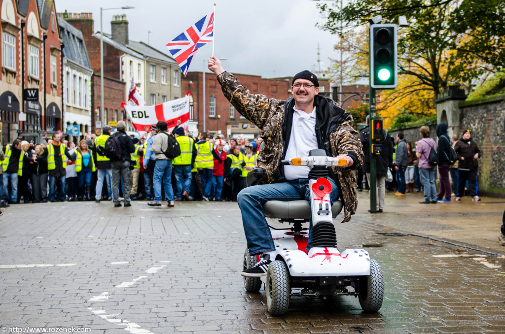 2012.11.10 - English Defence League - Protest in Norwich - 01