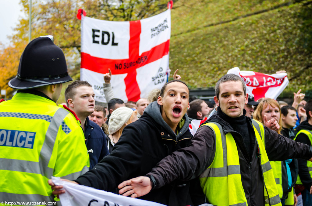 2012.11.10 - English Defence League - Protest in Norwich - 02