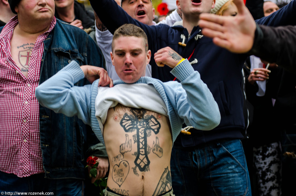 2012.11.10 - English Defence League - Protest in Norwich - 03