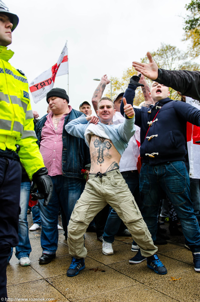 2012.11.10 - English Defence League - Protest in Norwich - 05