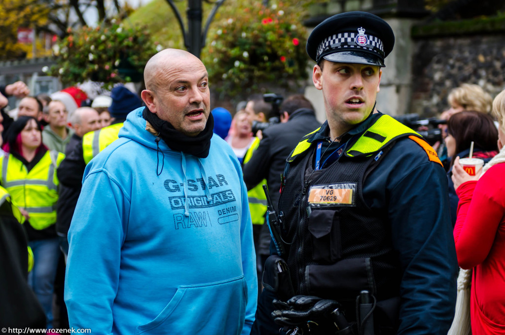 2012.11.10 - English Defence League - Protest in Norwich - 07