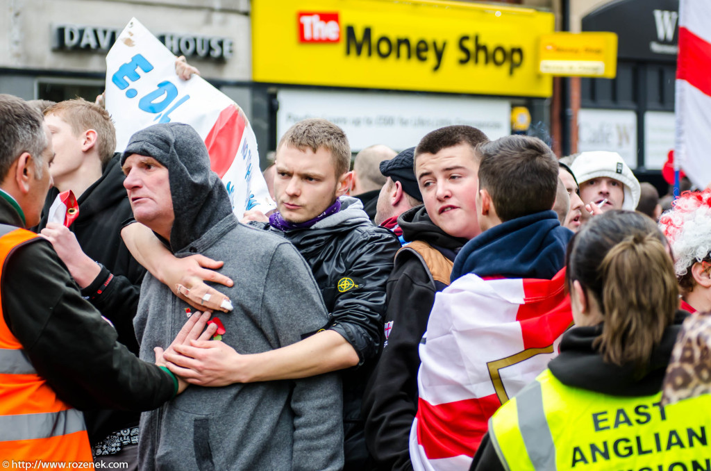 2012.11.10 - English Defence League - Protest in Norwich - 08