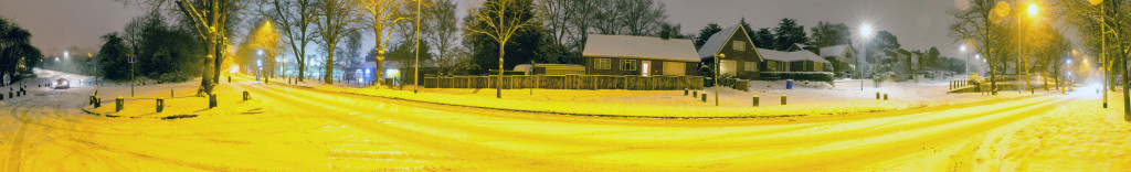 2013.01.20 - Winter in Norwich - Panorama