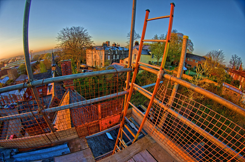 2013.04.28 - Sunrise on Scaffolding - HDR-08