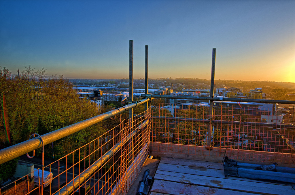 2013.04.28 - Sunrise on Scaffolding - HDR-18