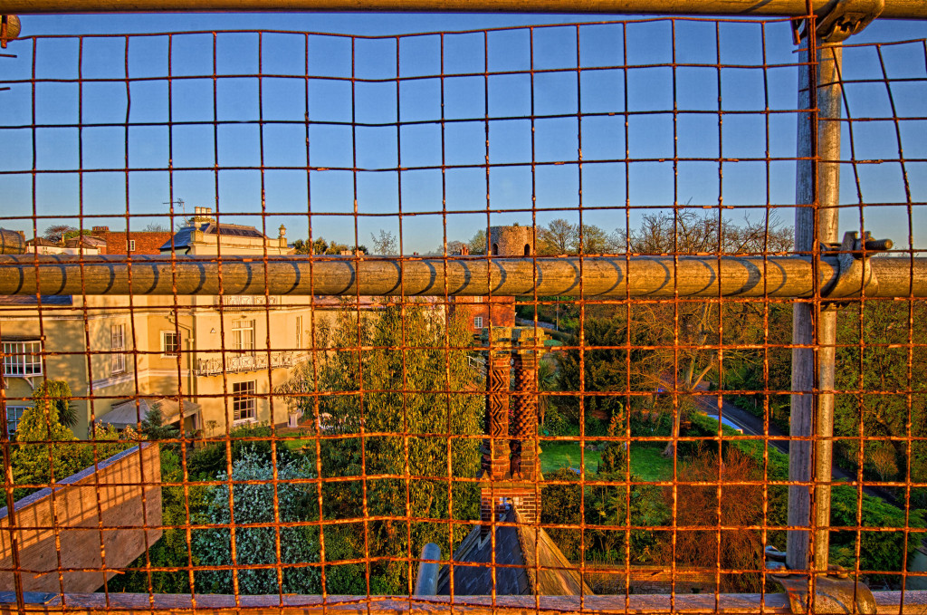 2013.04.28 - Sunrise on Scaffolding - HDR-21
