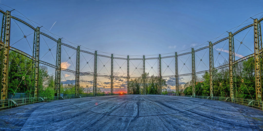 2013.05.05 - Gas Hill Norwich - Gas Tank - Panorama - Color - HDR