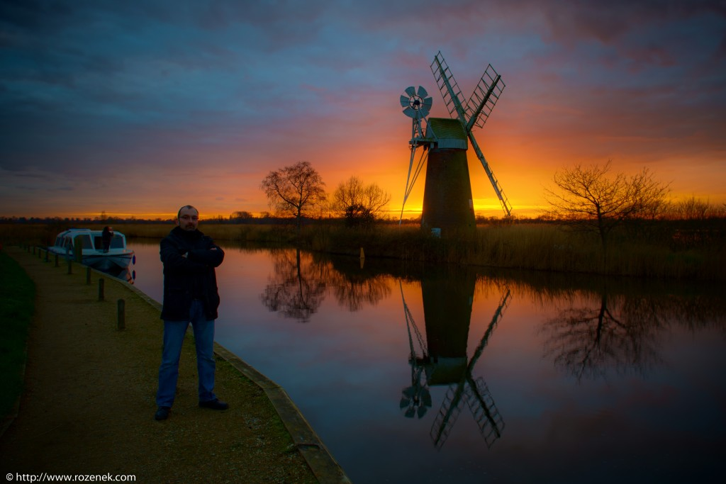 2014.03.04 - Turf Fen Mill at Sunset - 04 - full