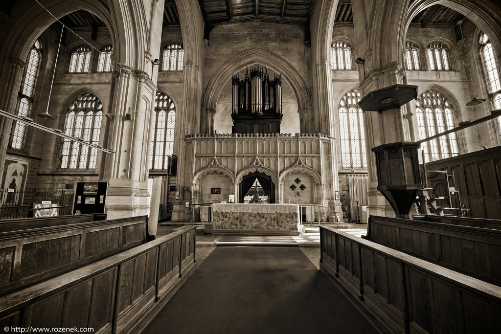 2014.03.29 - Holy Trinity Collegiate Church in Tattershall - HDR-03