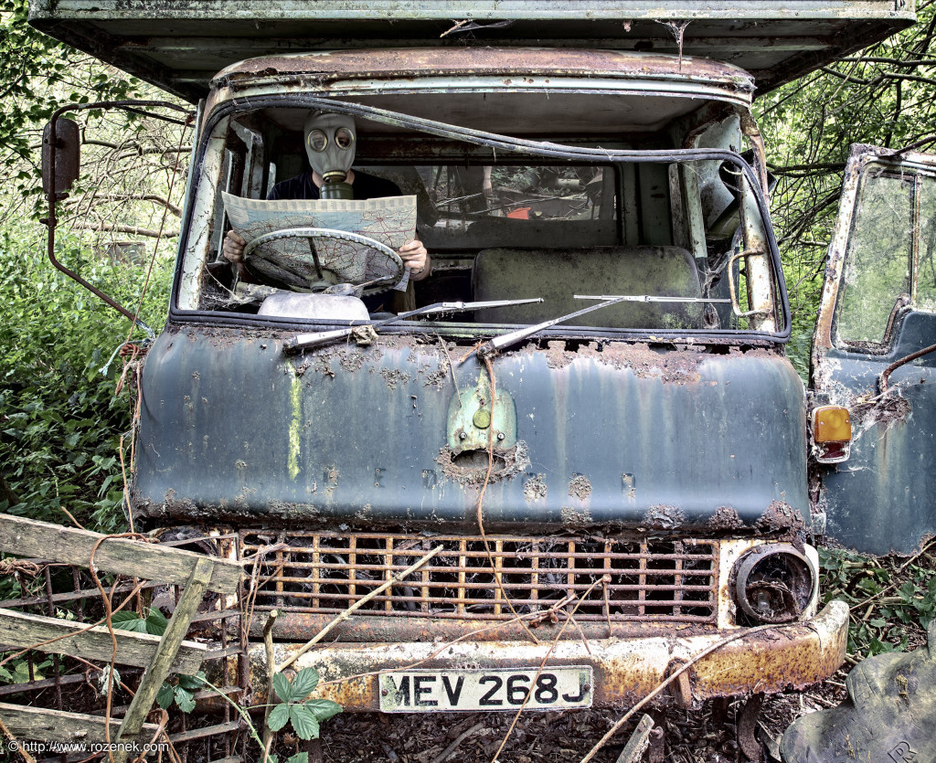 2014.07.26 - Car Graveyard in Hevingham - HDR-11