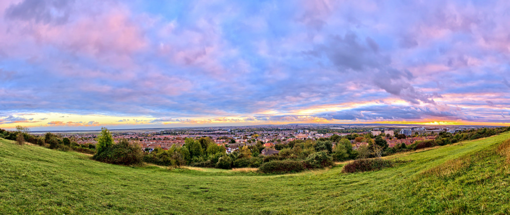 Portsdown Hill - Panorama