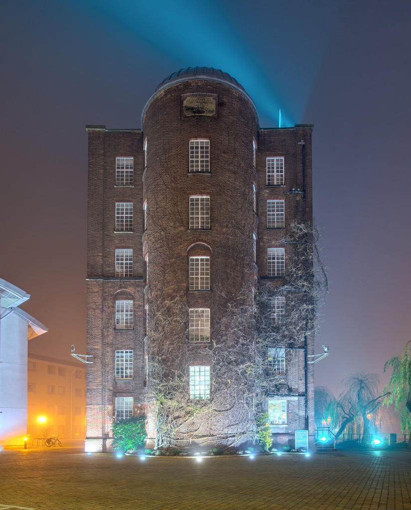 2014.01.20 - Foggy Norwich at Night - St James Mill