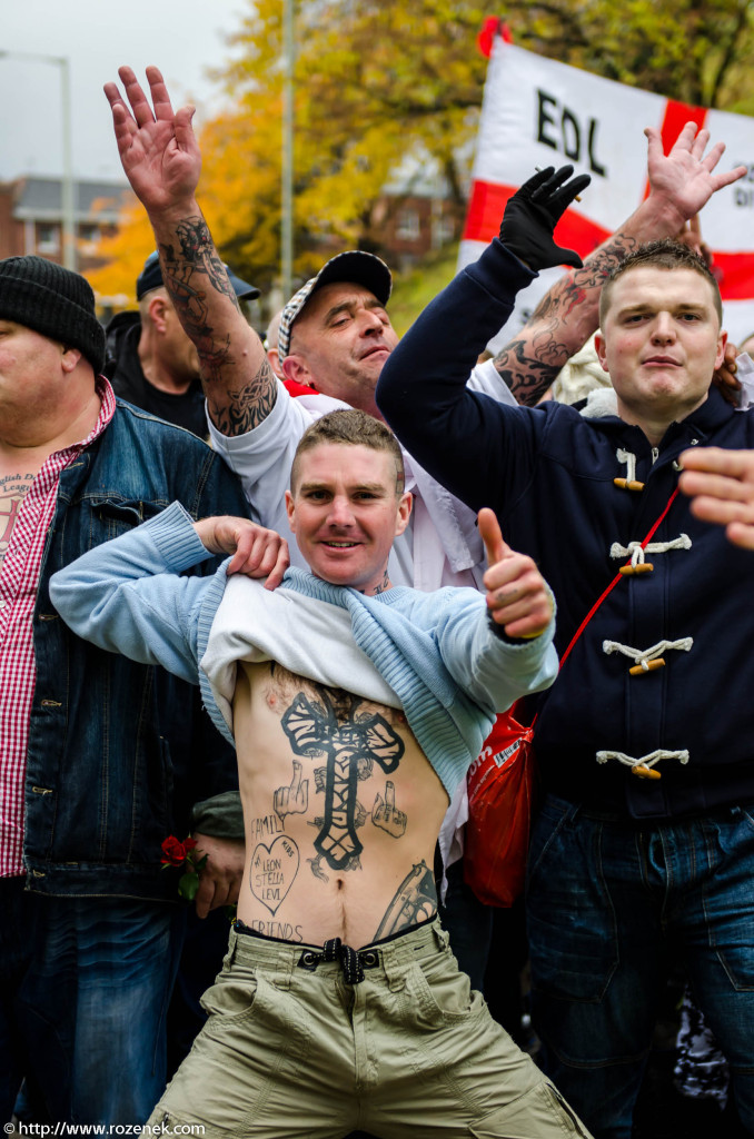 2012.11.10 - English Defence League - Protest in Norwich - 04