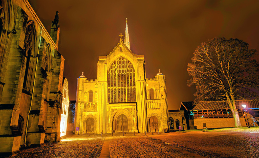 2013.02.09 - Norwich at Night - hdr-02