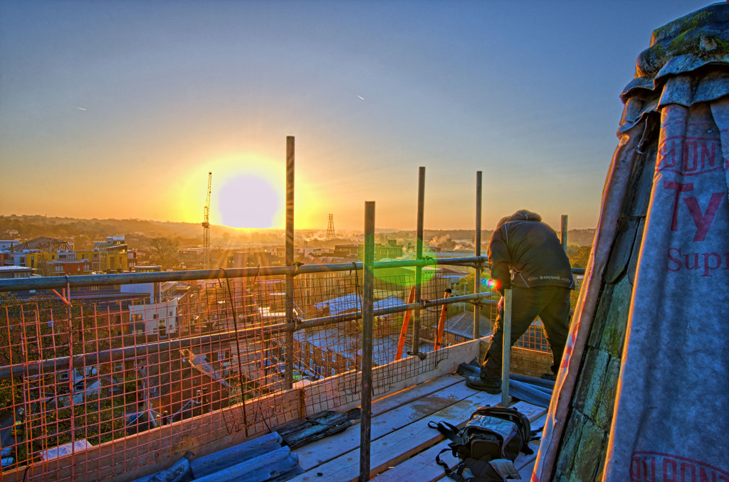 2013.04.28 - Sunrise on Scaffolding - HDR-15