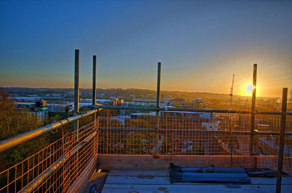 2013.04.28 - Sunrise on Scaffolding - HDR-17