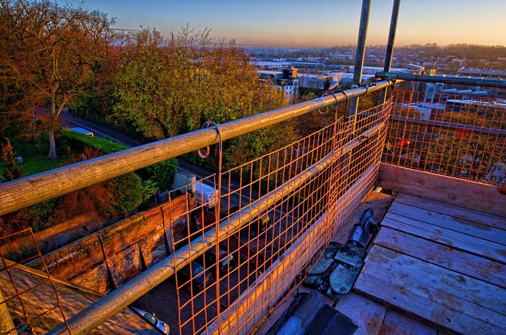 2013.04.28 - Sunrise on Scaffolding - HDR-19