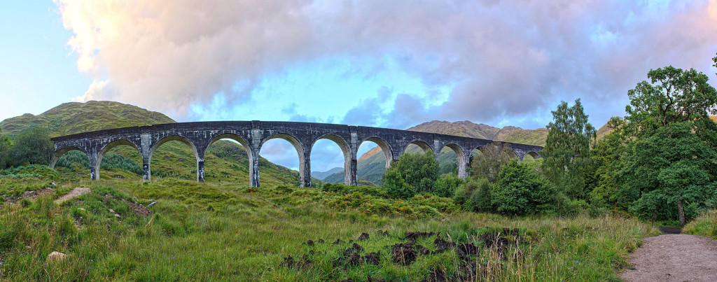 2013.08.30 - Glenfinnan Viaduct - Panorama