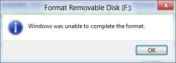 unable-to-complete-the-format