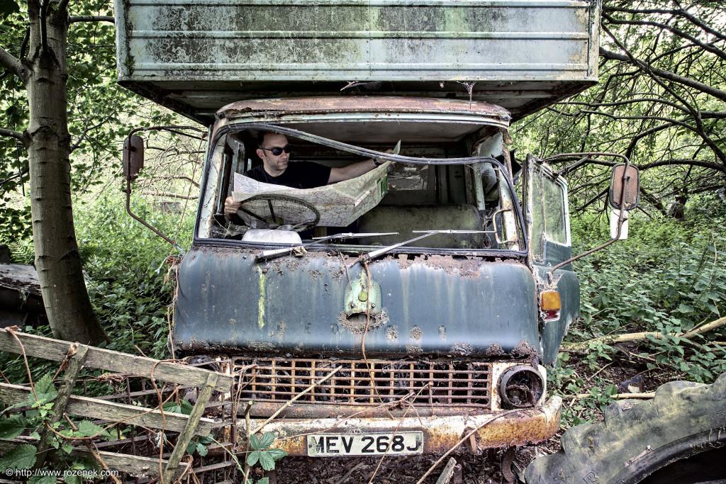 2014.07.26 - Car Graveyard in Hevingham - HDR-17