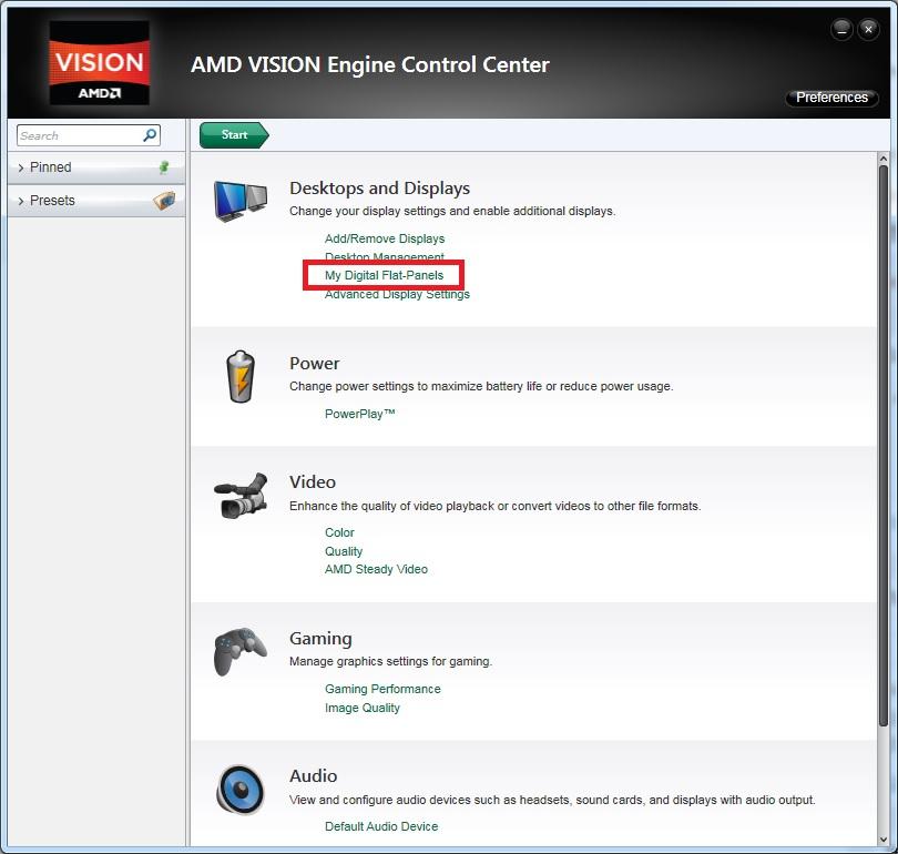 AMD VISION Engine Control Center - 01